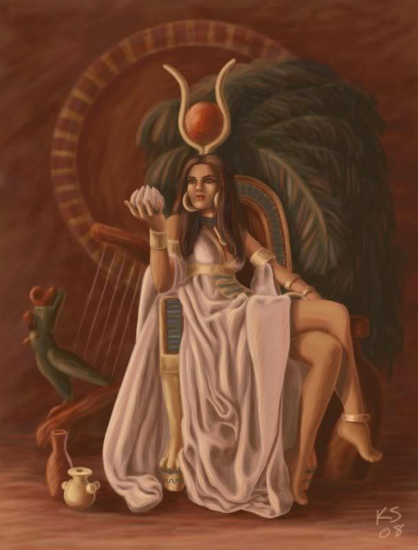 Tibet, Kali, and the Trinity Goddess - Page 5 Hathor-1