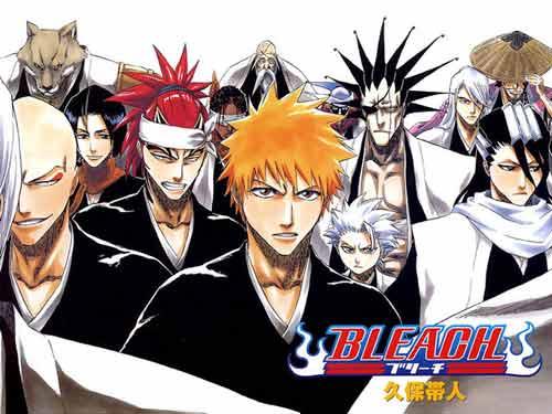 500 Mangás que você deve ler Bleach-manga
