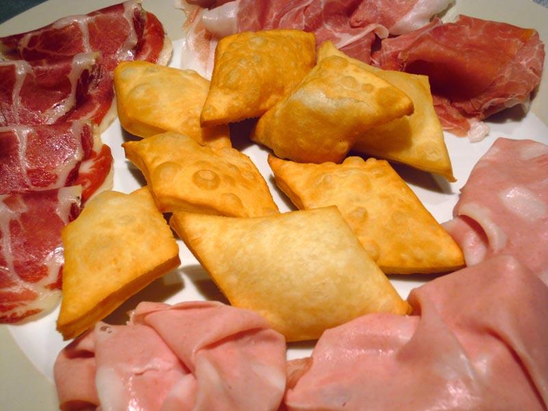 Spécialités culinaires Gnocco-fritto