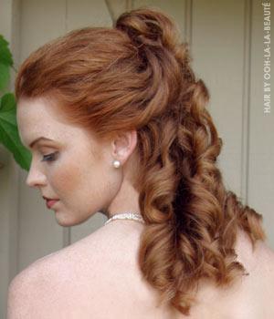 Šukuosenos Redheadbride
