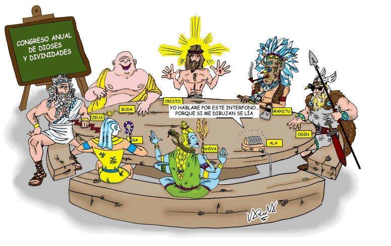 Humor gráfico sobre las religiones y dioses - Página 4 Dioses