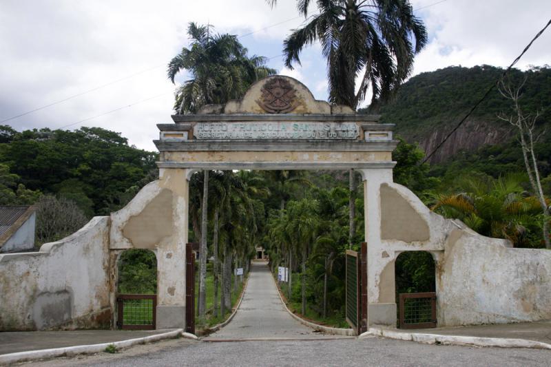 Entrada Sul - Horto Florestal (Jardim Botânico) Stamariahortomunicipalentrada