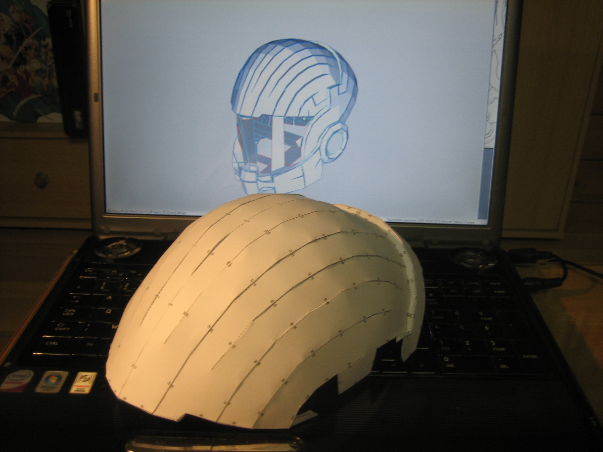 Casque N7 Mass Effect IMG_4080