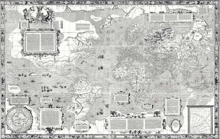Stare geografske mape i karte Carta-del-Mundo-de-Mercator-1569-65
