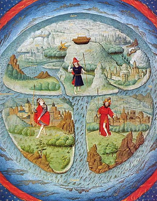 Stare geografske mape i karte Mapa-historico-Tierra-Plana-130