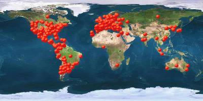 MapLoc.net - My visitors map