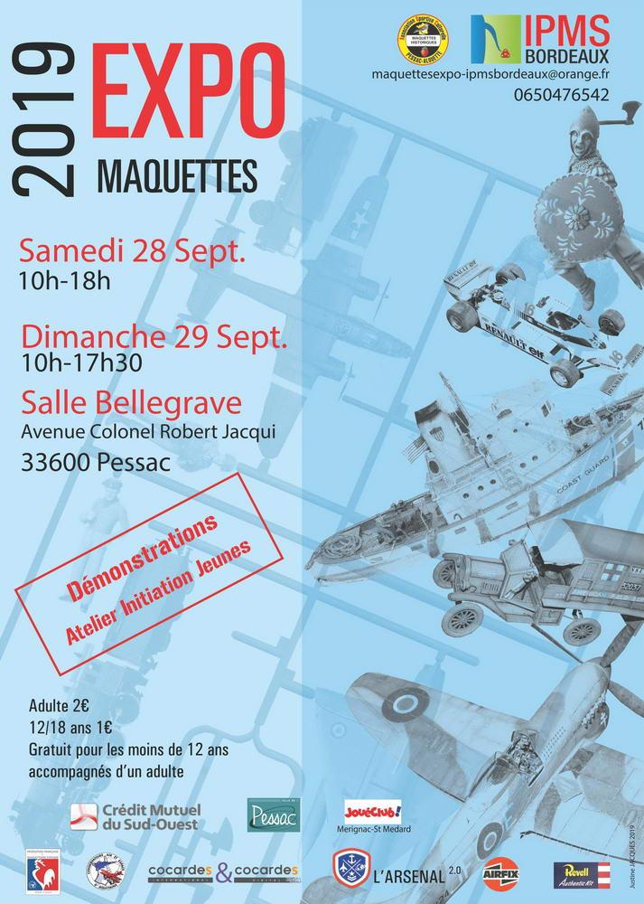 Expo IPMS Bordeaux les 28 et 29 septembre 2019 Expo2019_v4pdf_1000