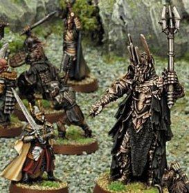 [Figurines] Séance de peinture et de préparation de figurines Sauron