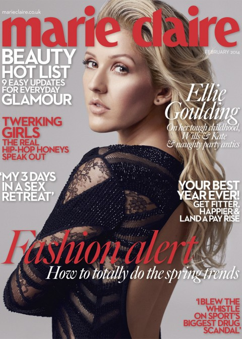 Galería » Portadas, photoshoots, candids. Ellie-Goulding-For-Marie-Claire-Cover