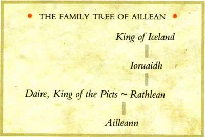 Les biches et les daines en mythologie celtique. Aillean-genealogie-coghlan