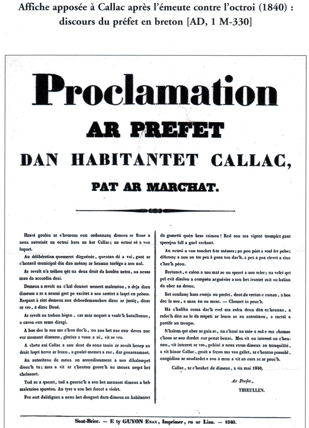Quand le Préfet s'adresse en breton pour appeler la population au calme Prefet-octroi