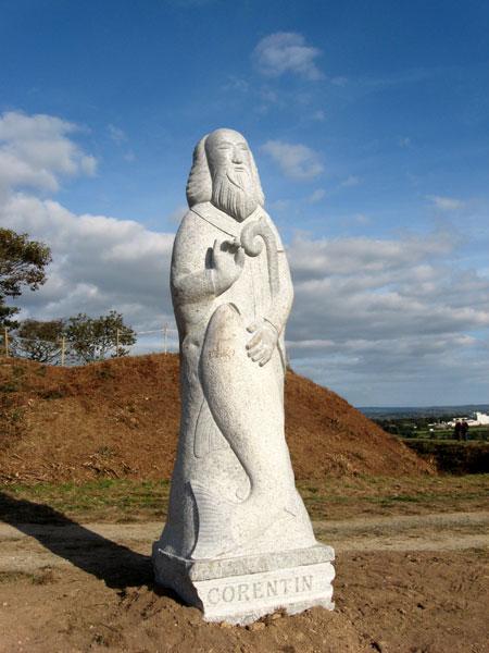 La Vallée des saints de Bretagne Butte-saint-corentin_2632