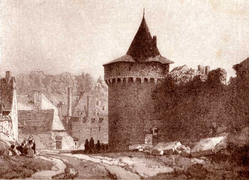 Anciennes cartes de Bretagne Litho