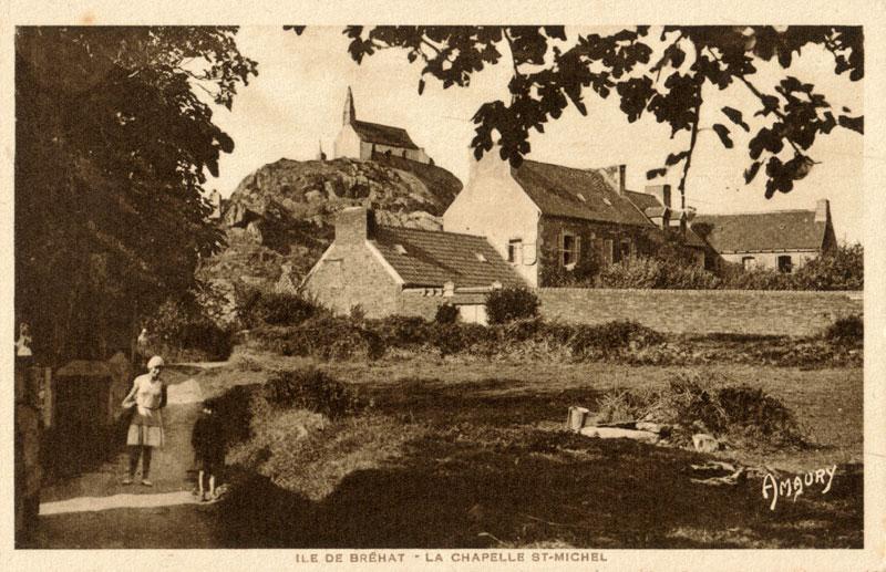 l'Ile de BREHAT / Enez Vriad Saint-michel-cp-hamonic8101