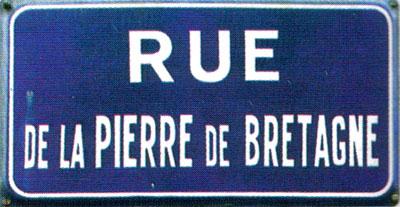 INGRANDE (S) Plaque-pierre-bretagne