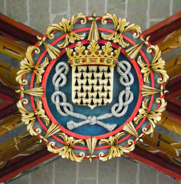NANTES * NAUNTT * NAONED Cathedral-blason-cordeliere
