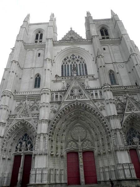 NANTES * NAUNTT * NAONED Cathedrale-facade