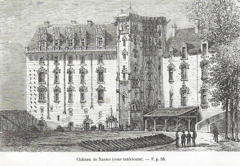NANTES * NAUNTT * NAONED Chateau-1884