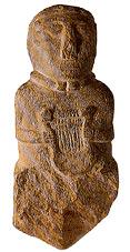 harpes et lyres (Telennoù ha Lourennoù) Paule-statuette