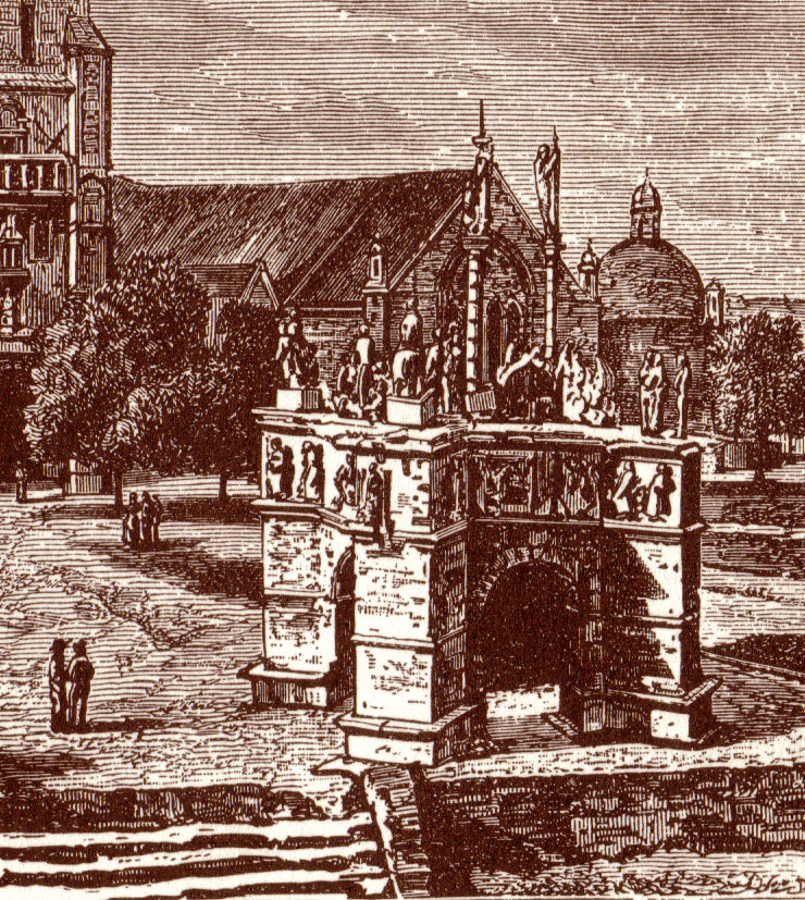 PLEYBEN / Pleiben Calvaire-1878