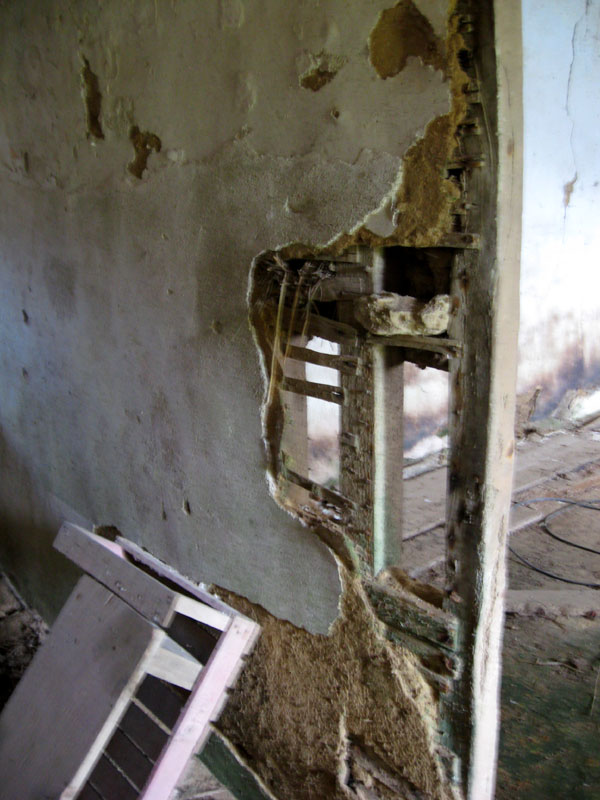 Les métiers de la construction / Micherioù sevel tiez Cloison-torchis-detail