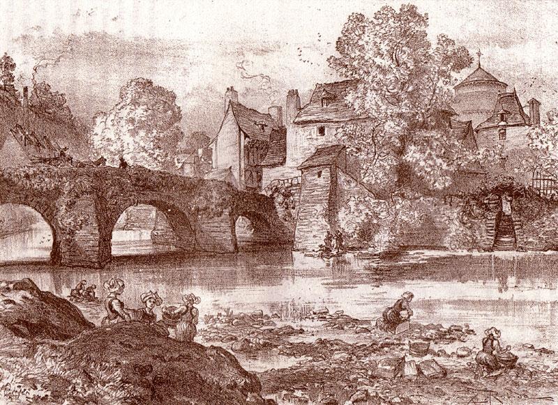 la Laita en vannetais Vieux-pont-robida