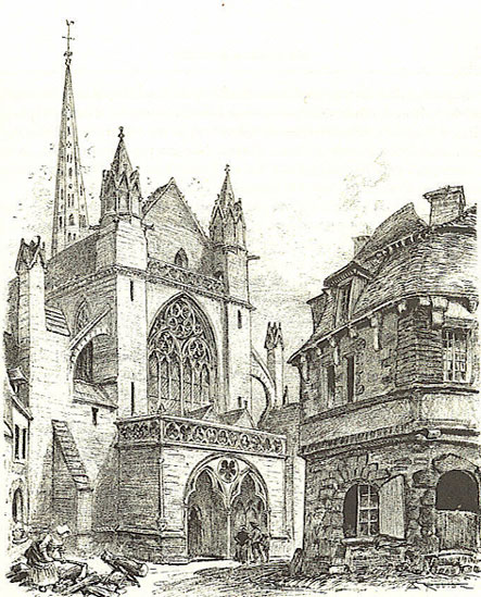 TREGUIER * LANDREGER Cathedrale-robida