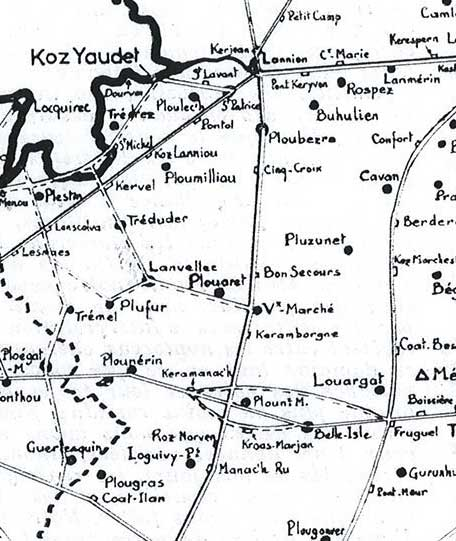 Le VIEUX-MARCHE Voies-romaines-le-diuzet