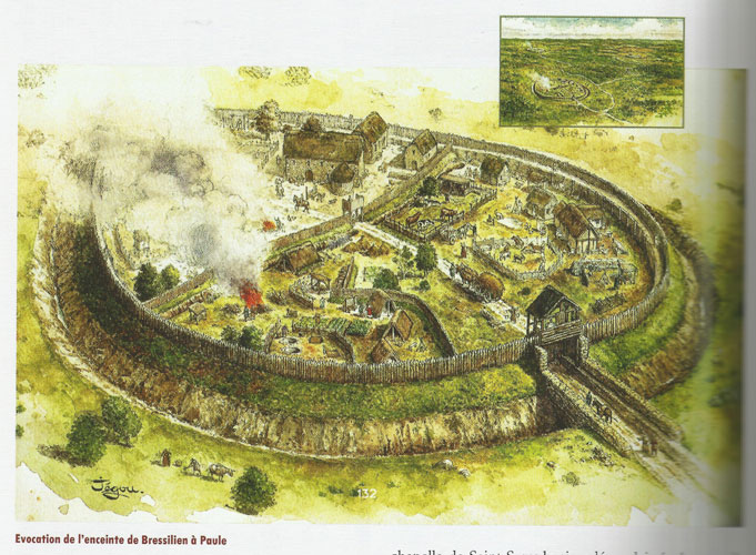 La Bataille de Carohaise. Réédition Archeologie-bressillien