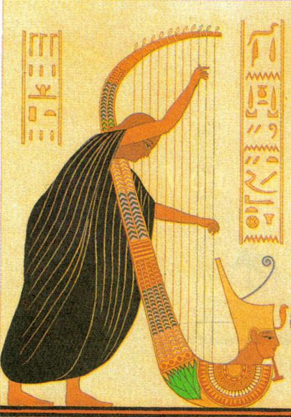 harpes et lyres (Telennoù ha Lourennoù) Harpes-1