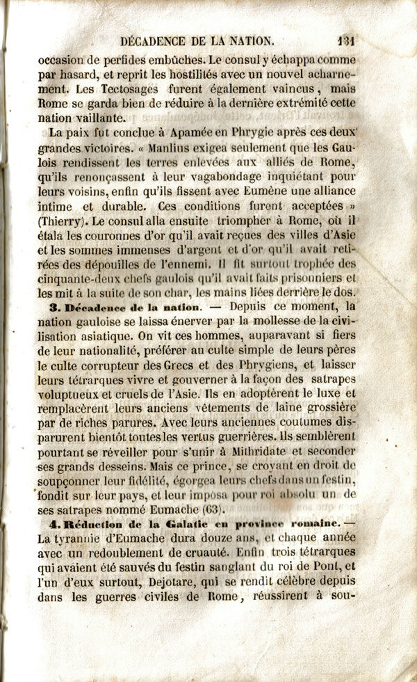 Les Galates ... de Galatie Drioux131