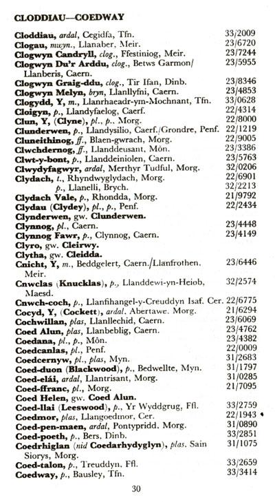 CLEGUEREC / Klegereg R-e-l30