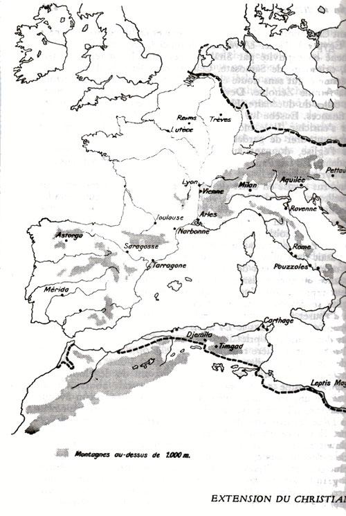 La pénétration du christianisme dans le monde celtique Christianisme-danielou-iii