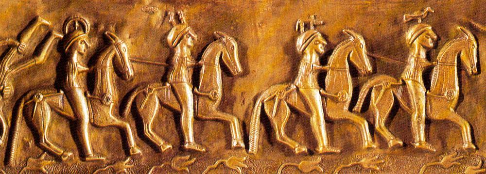 Les hierarchies 'sacerdotales' Gundestrup-cavaliers