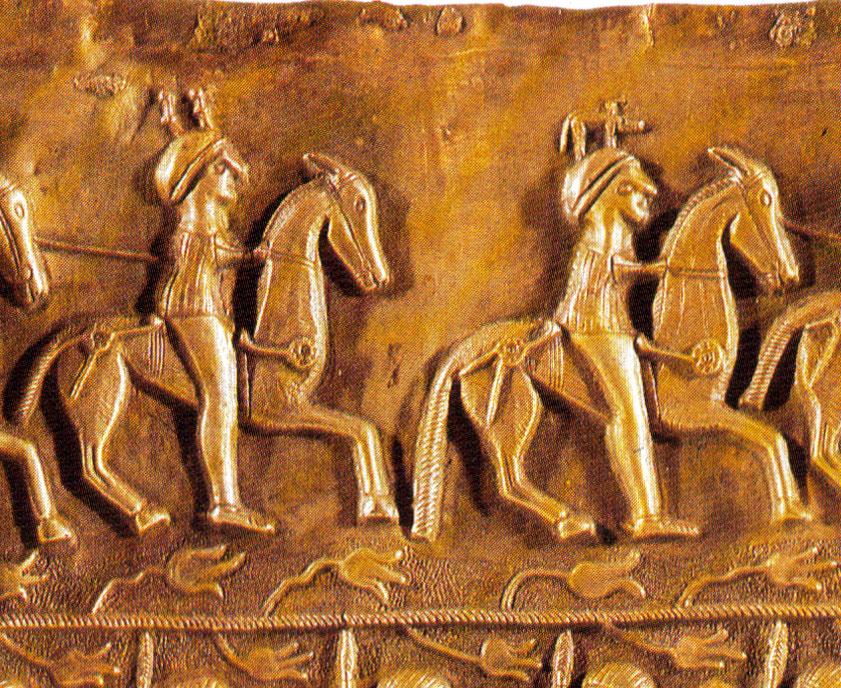 Le cheval dans le monde celtique Gundestrup-detail-cavalier