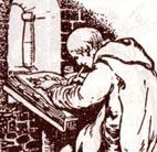 Projet d' Almanach jour par jour - Page 3 Icone-moine-scribe