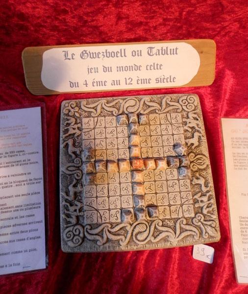Jeux anciens Gwezboell-tablut