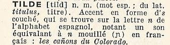 le ñ = n tildé N-tilde