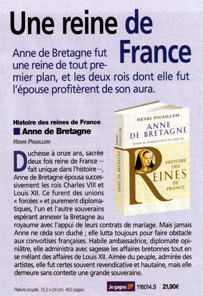 Anne de Bretagne Pigaillem