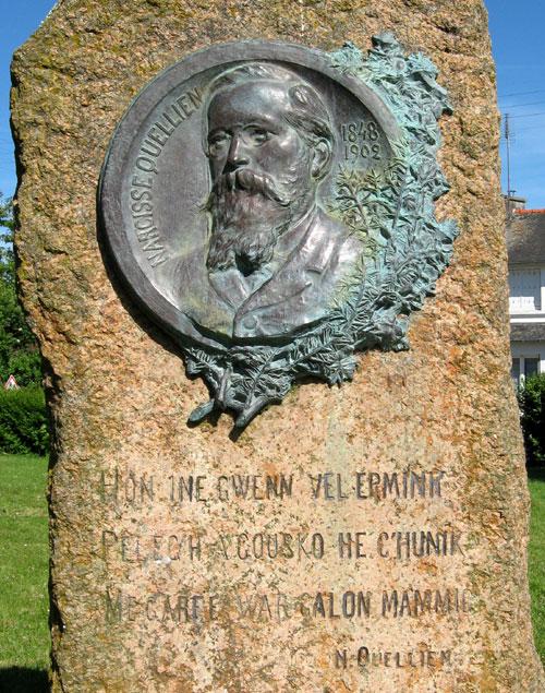 epitaphes bretonnes Medaillon-texte