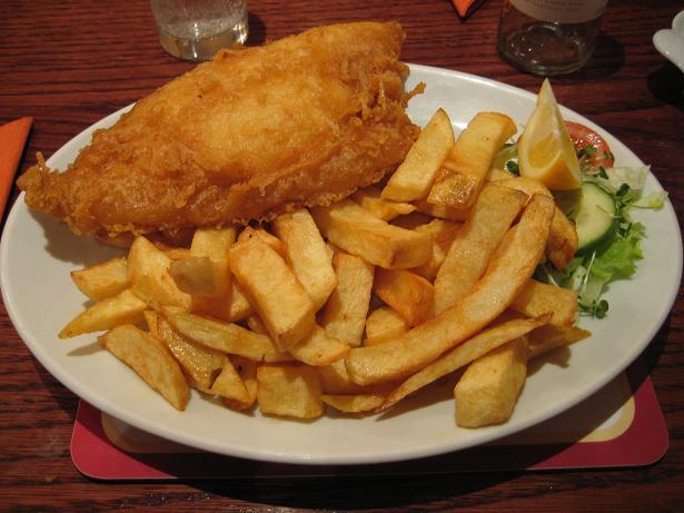 London Fish-chips