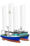 Marethix : catamaran hybride de pêche Marocain Mathrix