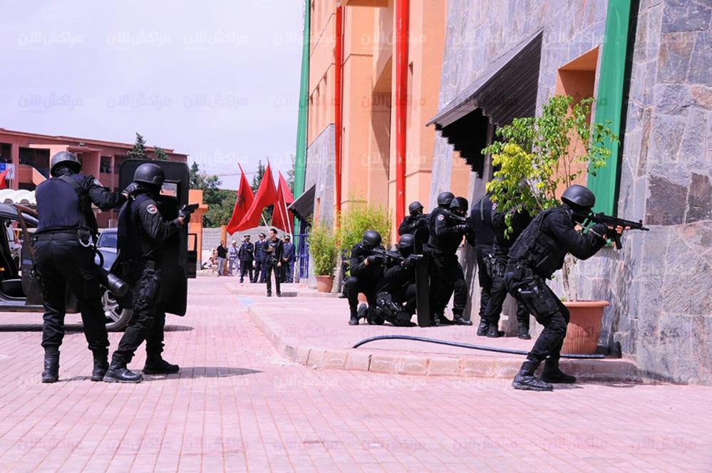 Moroccan Special Forces/Forces spéciales marocaines  :Videos et Photos : BCIJ, Gendarmerie Royale ,  - Page 13 32395177_1049972708474141_8224566152240562176_n-copie