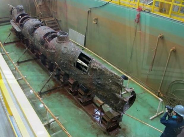 Un inventor de barcos de vapor y un intrépido capitán pretendieron liberar a Napoleón en submarino Capturar-submarino-Huley-e1394478185755