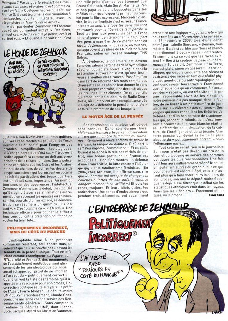 PASSAGES   TELE  Zemmour2