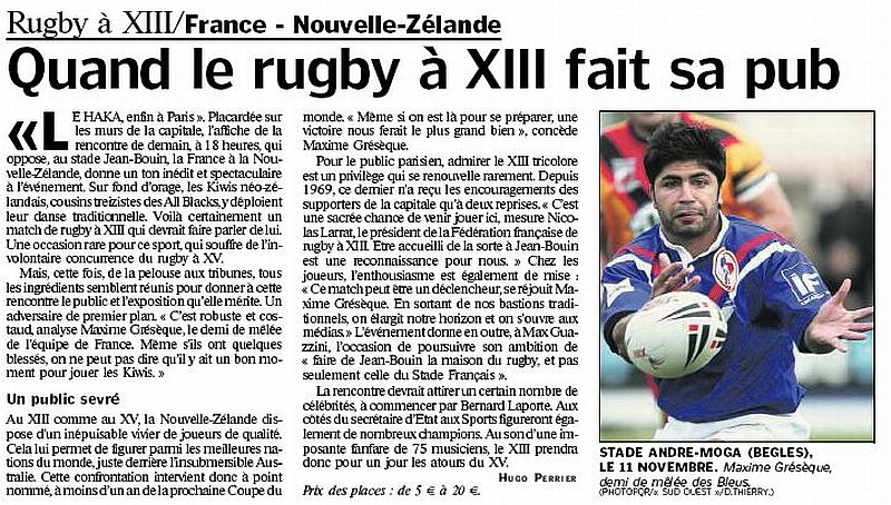 Rugby - Page 4 Parisien