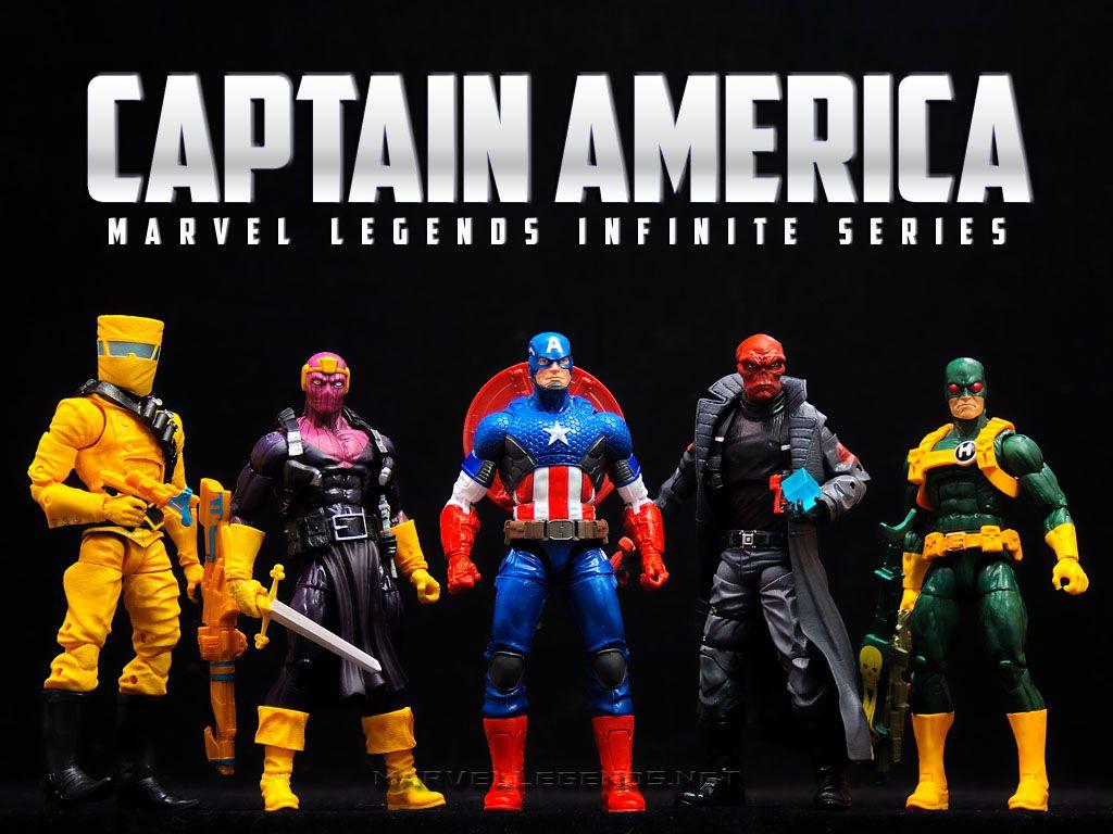 [Hasbro][Tópico Oficial] Marvel Legends | Infinite Series: Homem-Aranha & Capitão América InfiniteCaptainAmerica