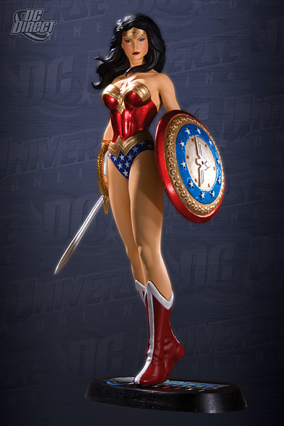 DC UNIVERSE ONLINE STATUE: WONDER WOMAN   15897_a_full