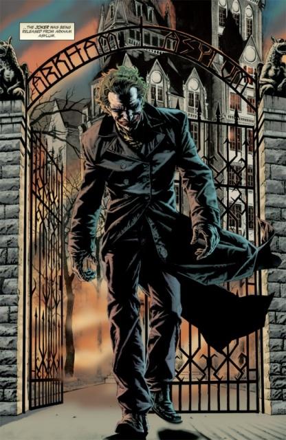 BATMAN BLACK & WHITE VILLAINS #05 : JOKER / LEE BERMEJO Joker5