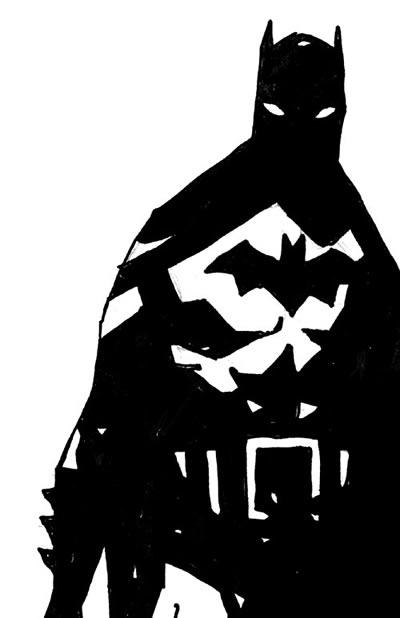 BATMAN BLACK & WHITE #06 : MIKE MIGNOLA Mignola